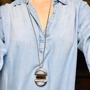 Lia Sophia 16 in pendant fashion necklace